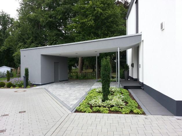 Geplasterter Garten von Garterra in Aschaffenburg