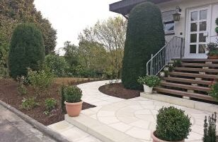 Gartengestaltung mit Steinen | Steinterrassen, Wege und mehr.