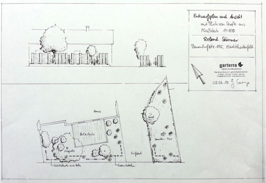 Bau-einer-modernen-Sichtschutzvariante-in-Marktheidenfeld-Bauplan
