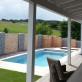 Bau eines Vorgartens mit neuer Terasse, Pool und Sichtschutz (Marktheidenfeld)